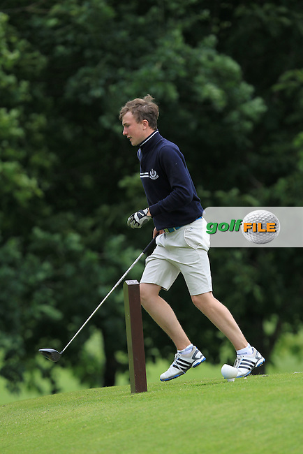Eoin Murphy (Naas) on the 15th during Round 1 of the 2016 Leinster Boys Amateur Open Championship at Mullingar Golf Club on Tuesday 21st June 2016.<br /> Picture:  Golffile | Thos Caffrey