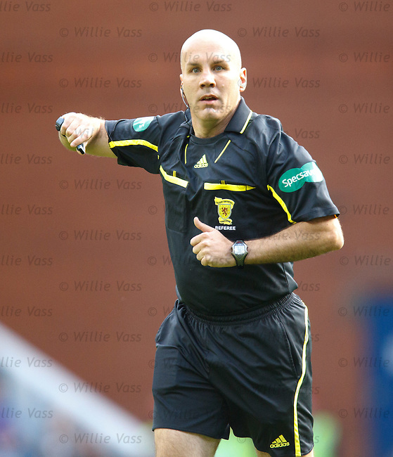 Stephen Finnie, referee