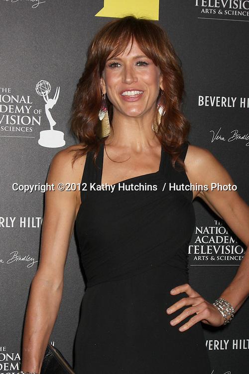 LOS ANGELES - JUN 23:  Jennifer Landon arrives at the 2012 Daytime Emmy Awards at Beverly Hilton Hotel on June 23, 2012 in Beverly Hills, CA