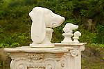 Dog Chapel statues