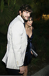 Actor Ashton Kutcher and actress Demi Moore arrive at 7th Annual Chrysalis Butterfly Ball on May 31, 2008 at a Private Residence in Los Angeles, California.