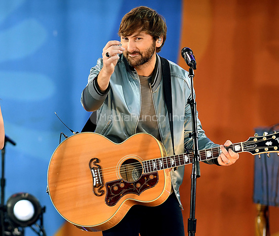NEW YORK, NY - JULY 14: Dave Haywood  from Lady Antebellum perform in Central Park on July 14, 2017 as part of Good Morning America Summer concert Series. Photo by John Palmer/MediaPunch