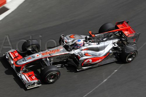 16/05/2010 Formula one GP Monaco Monte Carlo, Jenson Button GBR Vodafone McLaren Mercedes.