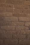 Israel, Southern Coastal Plain, mud bricks at the Canaanite City Gate of Ashkelon