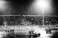 Demolition Derby at the Orange Show Speedway. San Bernardino, Southern California, California, United States, North America. November 2008, ©Stephen Blake Farrington