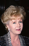 Debbie Reynolds attends the Film Society of Lincoln Center Tribute to Jane Fonda on May 7, 2001 at  Avery Fisher Hall in New York City.