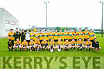 Austin Stacks panel at the Keanes Supervalu Minor Football Championship against Mid Kerry  at Connolly Park on Friday
