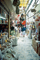 Mercado de Sonora, Mexico City November 6th, 2004.  This market is one of a kind, it specializes in spells, magic, different religious icons, santeria, etc to cure you, help you, improve you, etc.