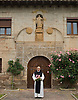 The resident monk at the Monasterio de San Salvador in the La Rioja wine region of Spain. Photo by Kevin J. Miyazaki/Redux