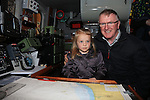 Sarah McDonald and George McDonald.at the open day in Clogherhead lifeboat station..Picture: Fran Caffrey / www.newsfile.ie ..