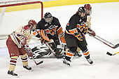 Ryan Dingle, Eric Leroux, Brian Carthas, Gabe Gauthier - The Princeton University Tigers defeated the University of Denver Pioneers 4-1 in their first game of the Denver Cup on Friday, December 30, 2005 at Magness Arena in Denver, CO.