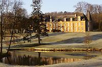 """France/08/Ardenenes/Fagnon env Charleville Mézières: Hotel Restaurant """"Abbaye de Septfontaines"""" dans son parc"""