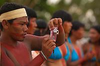 XI Jogos indígenas.<br /> Porto Nacional, Tocantins, Brasil.<br /> Foto Paulo Santos.<br /> 09/11/2011