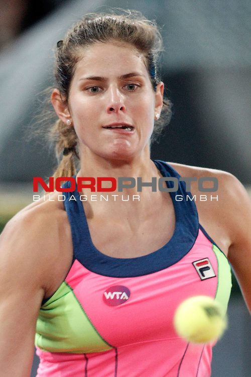 Julia Goerges during Madrid Open Tennis 2015 match.May, 5, 2015.Foto © nph / Acero)