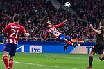 Atletico de Madrid Antoine Griezmann during UEFA Champions League match between Atletico de Madrid and Roma at Wanda Metropolitano in Madrid, Spain. November 22, 2017. (ALTERPHOTOS/Borja B.Hojas)