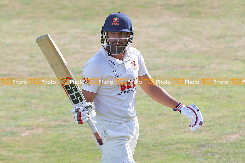 Ravi Bopara of Essex leaves the field having been dismissed for 99 during Essex CCC vs Worcestershire CCC, Specsavers County Championship Division 2 Cricket at the Essex County Ground on 1st September 2016