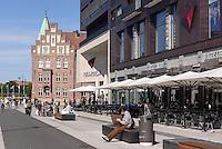 Auf der Södra Forstadsgatan, Malmö, Provinz Skåne (Schonen), Schweden, Europa<br /> at Söda Forstadtgatan  in Malmo, Sweden