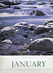 Sierra Wilderness Wall Calendar, 1998, January, Little Pigeon River, Great Smoky Mountains National Park