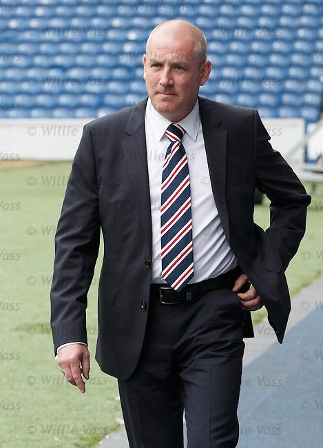 Rangers new manager Mark Warburton