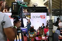 """São Paulo (SP), 31/07/2019 - Coletiva / Televisão / Bora SP -  Laura Ferreira, Apresentadora, durante coletiva de imprensa de apresentação do telejornal """"Bora SP"""", nesta quarta-feira, 31. (Foto: Charles Sholl/Brazil Photo Press/Agencia O Globo) São Paulo"""