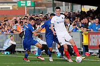 Oliver Hawkins of Portsmouth in action during AFC Wimbledon vs Portsmouth, Sky Bet EFL League 1 Football at the Cherry Red Records Stadium on 13th October 2018