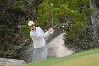 Justin Rose (GBR) hits from the trap on 2 during day 2 of the WGC Dell Match Play, at the Austin Country Club, Austin, Texas, USA. 3/28/2019.<br /> Picture: Golffile | Ken Murray<br /> <br /> <br /> All photo usage must carry mandatory copyright credit (© Golffile | Ken Murray)