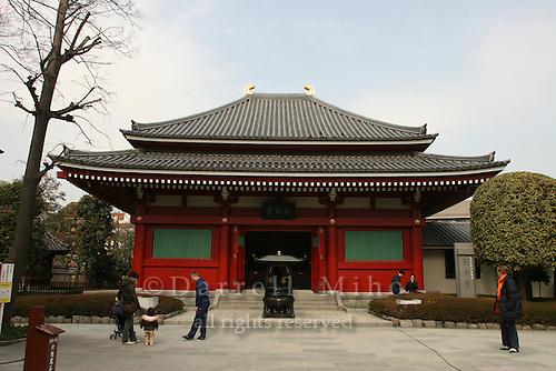 Mar 9, 2006; Tokyo, JPN; Asakusa.On the grounds of the Senso-ji Buddhist temple...Photo credit: Darrell Miho