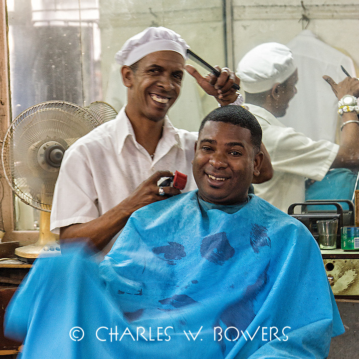 Faces Of Cuba - Everyone has to have a haircut<br /> <br /> -Limited Edition of 50 prints.