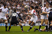 Twickenham, GREAT BRITAIN, Harry ELLIS during  the game between, England vs Scotland, Calcutta Cup Rugby match played at the  RFU Twickenham Stadium on Sat 03.02.2007  [Photo, Peter Spurrier/Intersport-images].....