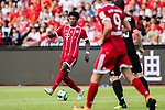 Bayern Munich Defender David Alaba (L) in action during the 2017 International Champions Cup China  match between FC Bayern and AC Milan at Universiade Sports Centre Stadium on July 22, 2017 in Shenzhen, China. Photo by Marcio Rodrigo Machado / Power Sport Images