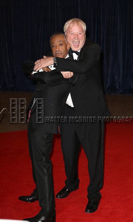 Al Sharpton, Chris Matthews  attending the  2013 White House Correspondents' Association Dinner at the Washington Hilton Hotel in Washington, DC on 4/27/2013