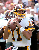 Landover, Maryland - September 11, 2005 --  Washington Redskins quarterback Patrick Ramsey (11) looks to pass in early game action against the Chicago Bears at FedEx Field in Landover, Maryland on September 11, 2005.  Ramsey left the game after being injured in the 2nd quarter.  The Redskins ultimately won the game 9-7..Credit: Ron Sachs / CNP