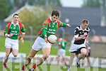 St Michaels Foilmore v Ardfert in their County Championship Clash at Austin Stack Park on Sunday