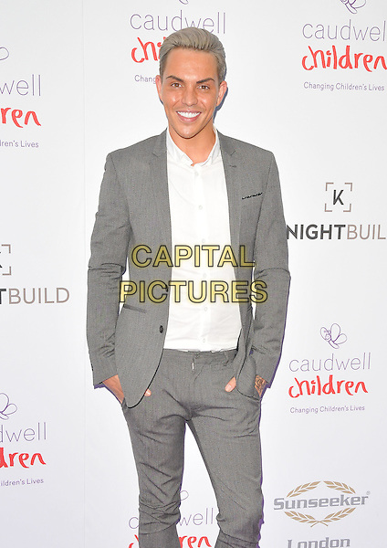 Bobby Cole Norris at the Caudwell Children Butterfly Ball, Grosvenor House Hotel, Park Lane, London, England, UK, on Wednesday 22 June 2016.<br /> CAP/CAN<br /> &copy;CAN/Capital Pictures