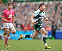 European Rugby Champions Cup quarter-final match Leicester Tigers v Stade Français Paris at Welford