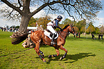 Badminton, Gloucestershire, United Kingdom, 4th May 2019, Tina Cook riding Billy The Red during the Cross Country Phase of the 2019 Mitsubishi Motors Badminton Horse Trials, Credit:Jonathan Clarke/JPC Images