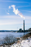 COAL BURNING POWER PLANT<br />
