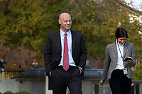 Marc Short, Chief of Staff to the Vice President of the United States, departs a television interview outside the White House in Washington D.C., U.S., on Tuesday, November 19, 2019.<br /> <br /> Credit: Stefani Reynolds / CNP/AdMedia