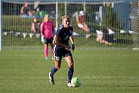 Kansas City, MO - Sunday September 04, 2016: Kristin Grubka during a regular season National Women's Soccer League (NWSL) match between FC Kansas City and the Sky Blue FC at Swope Soccer Village.