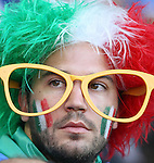 17 June 2006: An Italy fan. Italy and the United States tied 1-1 at Fritz-Walter Stadion in Kaiserslautern, Germany in match 25, a Group E first round game, of the 2006 FIFA World Cup.