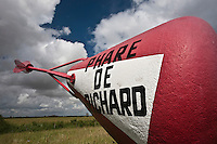 Europe/France/Aquitaine/33/Gironde/Estuaire de la Gironde/Jau: Phare de Richard, bouée de signalisation