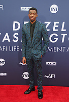 HOLLYWOOD, CA - JUNE 6: Chadwick Boseman at the AFI Life Achievement Award: A Tribute To Denzel Washington at the Dolby Theatre in Hollywood, California on June 6, 2019.   <br /> CAP/ADM/FS<br /> ©FS/ADM/Capital Pictures