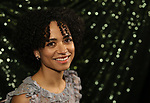 Lauren Ridloff attends the 2018 Tony Awards Meet The Nominees Press Junket on May 2, 2018 at the Intercontinental Hotel in New York City.