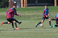 Washington, D.C. - October 9, 2016: The U.S. Men's National team training at Episcopal High School.