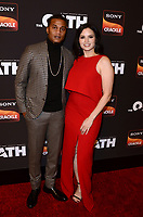 "LOS ANGELES - FEB 20:  Cory Hardrict, Katrina Law at ""The Oath"" Season 2 Screening Event  at the Paloma on February 20, 2019 in Hollywood, CA"