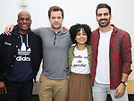 "Kenny Leon, Lauren Ridloff, Joshua Jackson and Nyle DiMarco attends the cast photo call for the Broadway Revival of  ""Children of a Lesser God"" on February 22, 2018 at the Roundabout Rehearsal Studios in New York City."