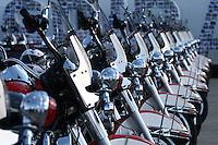 SAO PAULO - SP - 01 DE JUNHO DE 2013 - CElEBRAÇÃO HD110 - Harley-Davidson celebra 110 anos de história com promoção de grande evento para fãs da marca em São Paulo, na Nova Arena Anhembi. FOTO: MAURICIO CAMARGO / BRAZIL PHOTO PRESS.