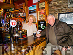 Stars in bars<br /> -----------------<br /> Michael Leahy from Ventry got a pleasant surprise on St Patricks day when he went for a jar in the Brewery Gate pub Dingle, only to find actress Sarah Miles of the famous movie ' Ryans Daughter ' inside serving.