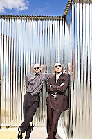 Martin Fornage and Paul Nahi - Enphase pictures: Executive portrait photography of Paul Nahi & Martin Fornage of Enphase Energy by San Francisco corporate photographer Eric Millette
