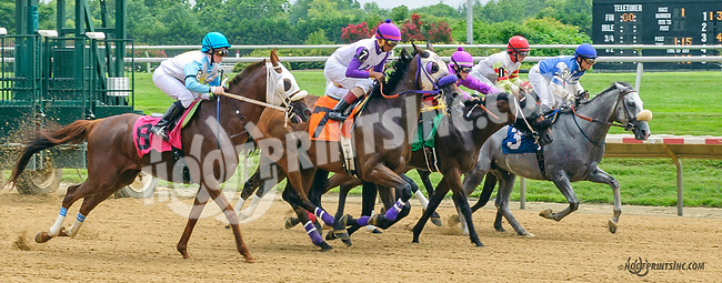 Squared Away winning at Delaware Park on 7/18/15